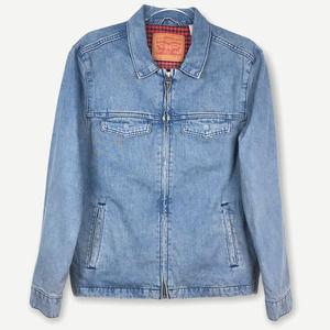 VTG Levis Light Blue Wash Denim Chore Jacket Small